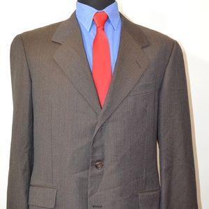 Hickey Freeman 42R Sport Coat Blazer Suit Jacket B